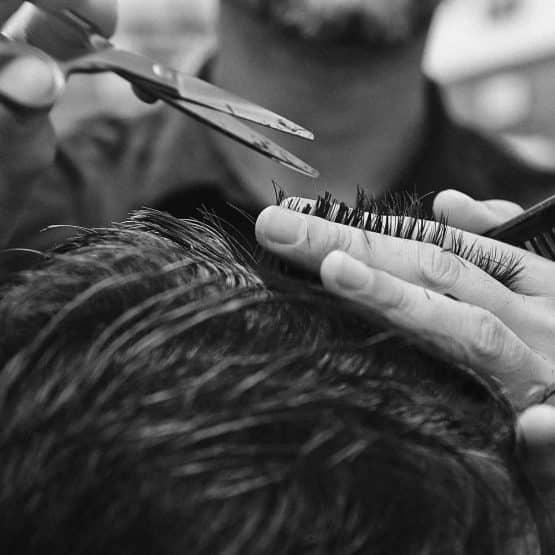 Männer Friseur